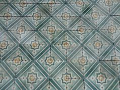 carreaux de ciment anciens - salvage ciment colored tiles